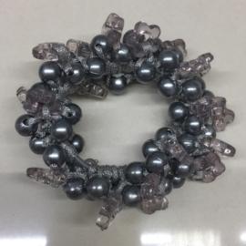 Perłowe gumki do włosów - OG742