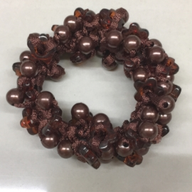 Perłowe gumki do włosów - OG743