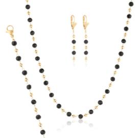 Komplet biżuterii z koralikami - Xuping PK541