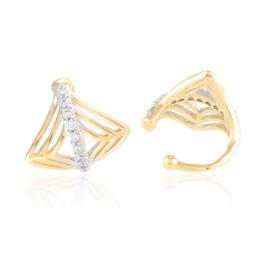 Nausznice z kryształkami Xuping - EAP14534