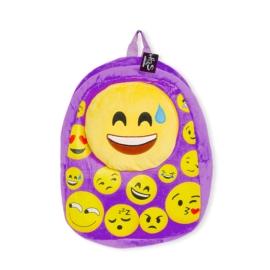 Plecak dziecięcy - Emotki Purple - PL378