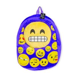 Plecak dziecięcy - Emotki Dark Blue - PL380