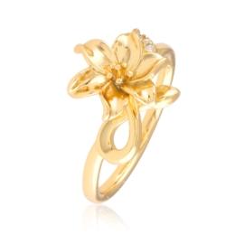 Pierścionek codzienny - kwiat - Xuping PP2885