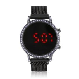 Zegarek LED na magnetycznym pasku - Z1796