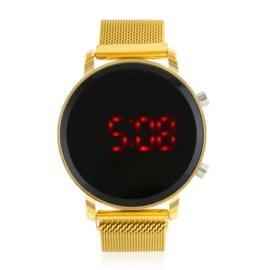 Zegarek LED na magnetycznym pasku - Z1802