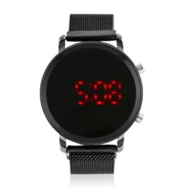 Zegarek LED na magnetycznym pasku - Z1804