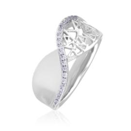 Pierścionek z kryształkami - Xuping PP2897