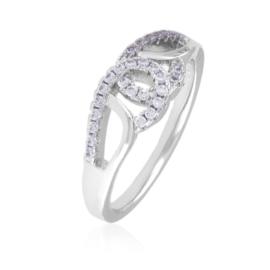 Pierścionek z kryształkami - Xuping PP2898