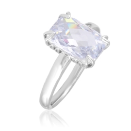 Pierścionek dużym kryształem - Xuping PP2899