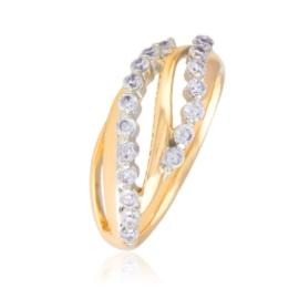 Pierścionek z kryształkami - Xuping PP2900
