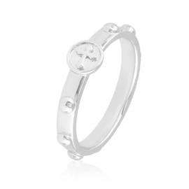 Pierścionek różaniec - Xuping PP2907