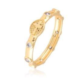 Pierścionek różaniec - Xuping PP2908