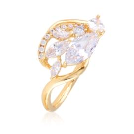 Pierścionek z kryształkami - Xuping PP2915