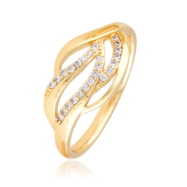 Pierścionek z kryształkami - Xuping PP2919