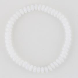 Bransoletka perła szlifowana biała BRA2935