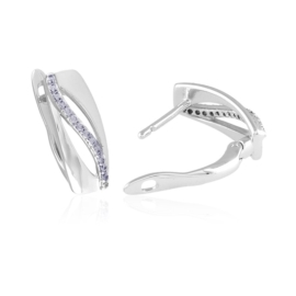 Kolczyki codzienne z kryształkami Xuping EAP14942