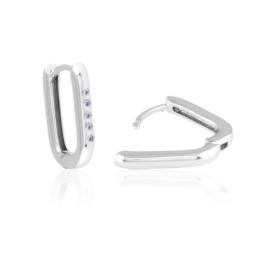 Kolczyki codzienne z kryształkami Xuping EAP14943