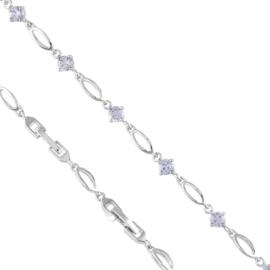 Bransoletka codzienna z kryształkami Xuping BP7242