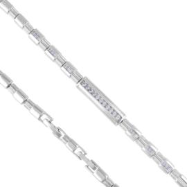 Bransoletka codzienna z kryształkami Xuping BP7243