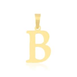 Przywieszka stal literka 2cm - B - Xuping PRZ2638