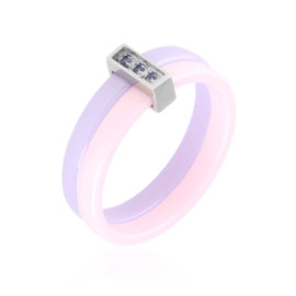 Pierścionek ceramiczny - Xuping PP2925