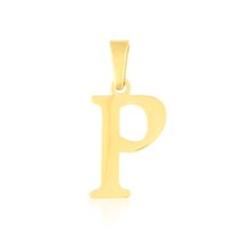 Przywieszka stal literka 2cm - P - Xuping PRZ2645