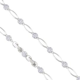 Bransoletka z kryształkami Xuping BP7291