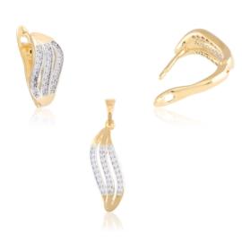 Komplet biżuterii wave - Xuping PK545