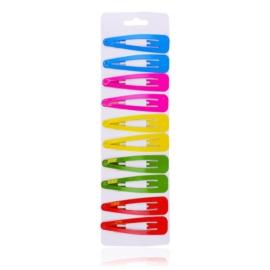 Spinki pyki kolorowe 6,5cm 10szt - OS792