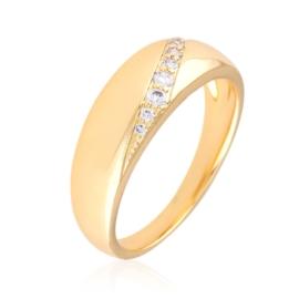 Pierścionek z kryształkami - Xuping PP2926