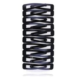 Spinki pyki czarne 6,5cm - OS793