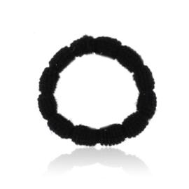 Gumki czarne karbowane 12szt - OG786