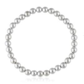 Bransoletka czeskie perły srebrne - BRA3024