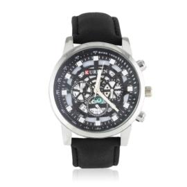 Zegarek męski - czarny pasek - Z1867