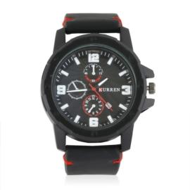 Zegarek męski casual - black - Z1870