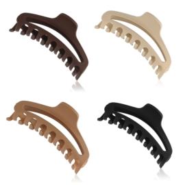 Klamry do włosów mix kolorów 9cm - SZ211