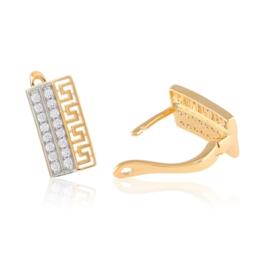 Kolczyki greek z kryształkami Xuping EAP15157