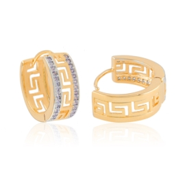 Kolczyki greek z kryształkami Xuping EAP15158