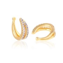 Nausznice z kryształkami Xuping EAP15170