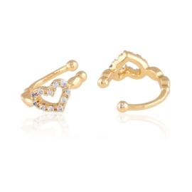 Nausznice z kryształkami Xuping EAP15171