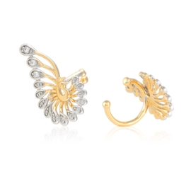 Nausznice z kryształkami Xuping EAP15173