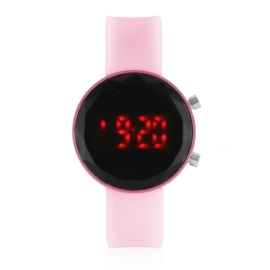 Zegarek LED na silikonowym pasku - Z1896