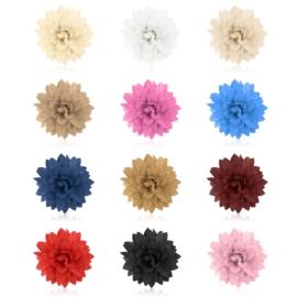 Spinki edytki broszki 2w1 kwiatki- OS806