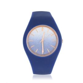Zegarek silikonowy glitter ombre - Z1914