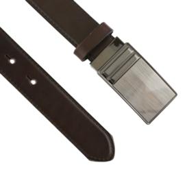 Pasek skórzany męski automat brązowy 3cm BLM188