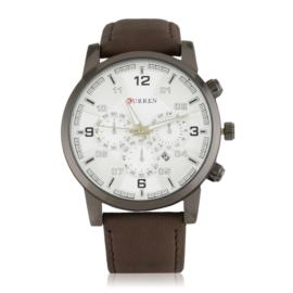 Zegarek męski casual - brown - Z1919