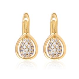 Kolczyki z kryształkami - Xuping - EAP15186