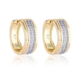 Kolczyki z kryształkami - Xuping - EAP15188