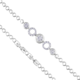 Bransoletka z kryształkami Xuping BP7411