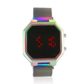 Zegarek LED na magnetycznym pasku - Z1920